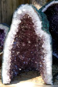 Amethyst geodes are powerful metaphysical objects that can purify space and introduce fresh energy into your home.