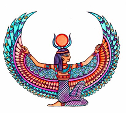 They Egyptian goddess Isis